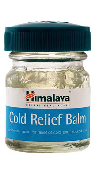 Cold Relief Balm - Click Image to Close